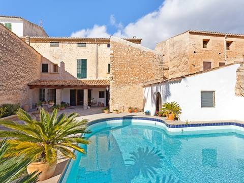 SWOALA2061NEW Beautiful house for sale in Alaró with private pool and wonderful Mediterranean garden