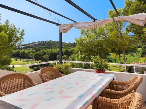 SWOBEN1911 Penthouse with large terraces and wonderful views of Bendinat golf