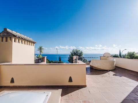 SWOBEN2090 Beautiful sea view town house for sale in Bendinat