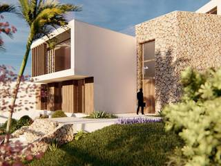 Designer villa, in an exclusive area, just 150m from the beach in Bendinat