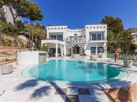 SWOBEN4593 Impressive villa with luxury finishing in Bendinat