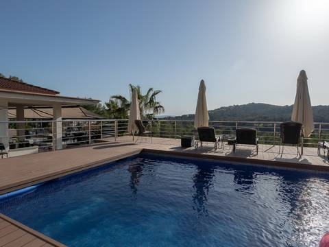 SWOBEN4778 Exclusive villa, with fantastic views over the royal golf course of Bendinat