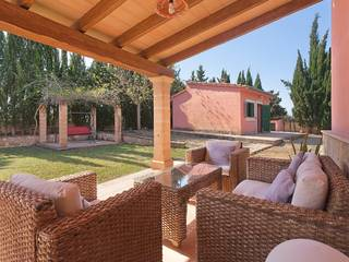 Country house with beautiful views to the mountains near the charming village Biniali