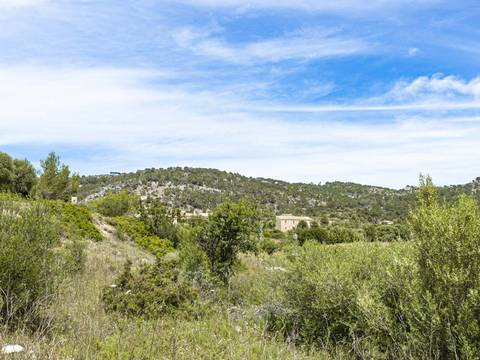 SWOCAL0177 Building plot with permit in the charming village of Calvià