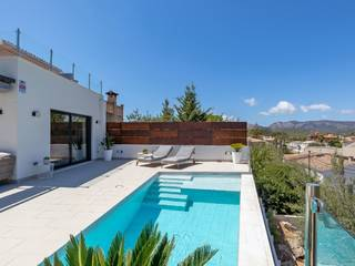 Chic 2 bedroom villa with private pool in the historic village of Calvía