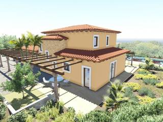 Spacious plot with license for building a rustic villa near Calvia
