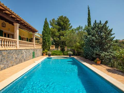 SWOCAL5171 Lovely country home with pool in the peaceful area of Son Font, Calvià