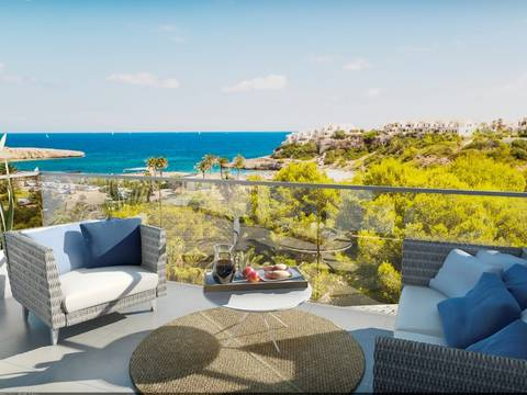 SWOCAM2120 Newly built townhouses with sea views and near the beach, Cala Murada