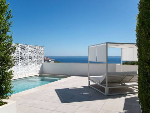 SWOCAS10213 Outstanding penthouse with private pool and lift in Cas Catalam Palma