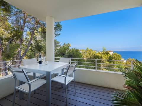 SWOCAS11469 Spectacular duplex penthouse with sea views in Cas Català