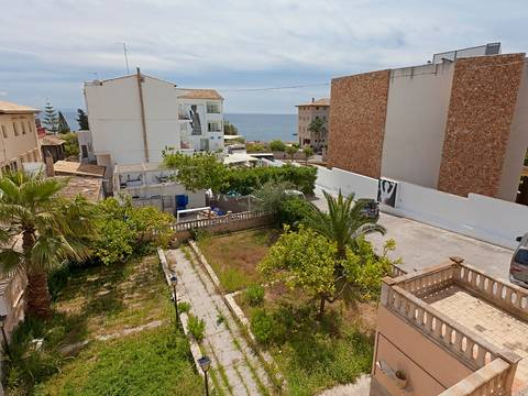 SWOCAS2096 Town house for sale in Cas Catalá with large terraces and beautiful sea views