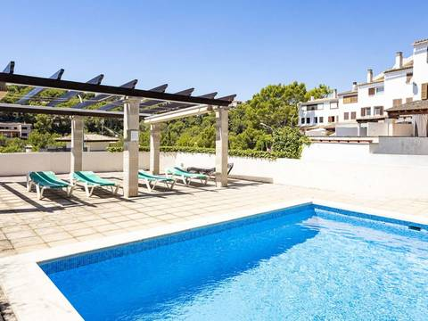 SWOCAS2198 Large house with community pool and private garage in Cas Catala