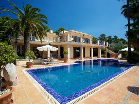 SWOCAS4769CASCA Mediterranean villa with beautiful views and privacy, located in exclusive neighbourhood next to Palma