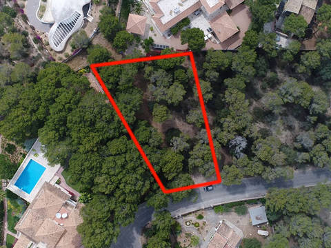 SWOCAV0220 Plot with project and building licence for a villa in Cala Vinyes