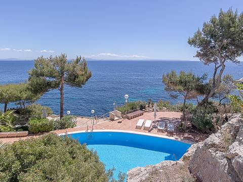 SWOCAV10079 Wonderful 3 bedroom apartment with views of the sea in Cala Vinyas