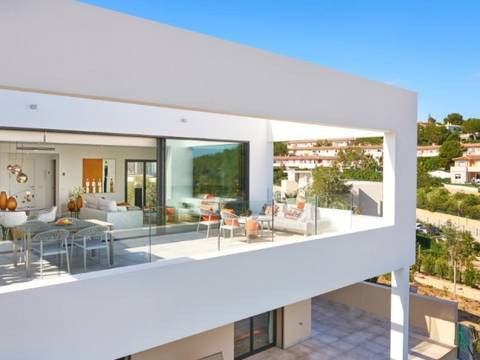 SWOCAV2137 Newly built townhouses in a beautiful residential complex in Cala Vinyes