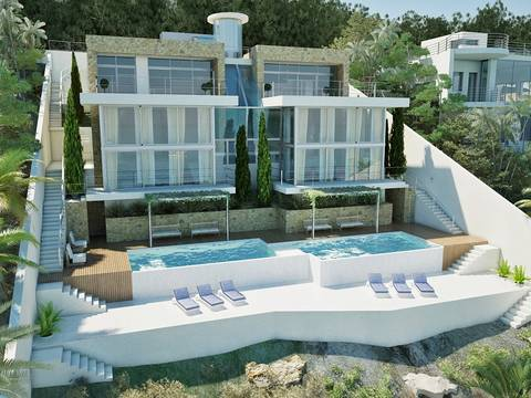 SWOCAV40014 Villa project in walking distance to the beach of Cala Vinyes