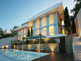Villa project in walking distance to the beach of Cala Vinyes