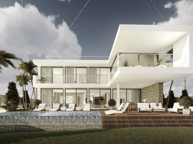 Deluxe project for a 5 bedroom villa with pool in Cala Vinyes