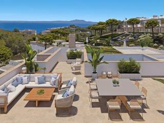 Stylish properties with sea views in a luxury community in Cala Vinyes