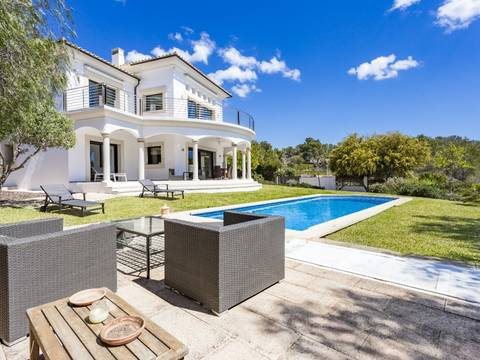 SWOCAV4953ETV Villa with panoramic views towards the sea and the forest in Cala Vinyas