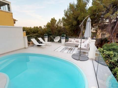 SWOCDB2149 Spacious townhouse in a prestigious residential area for sale in Costa den Blanes