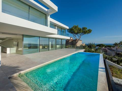 SWOCDB40007 Stunning villa with top quality equipment and sea view in Costa d''en Blanes