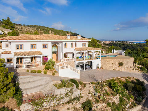SWOCDB40158 Impressive villa in Costa D'en Blanes with incredible views across Puerto Portals