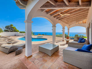 Impressive villa in Costa D'en Blanes with incredible views across Puerto Portals