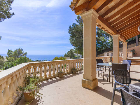 SWOCDB40209 Spacious villa with beautiful sea views in Costa den Blanes