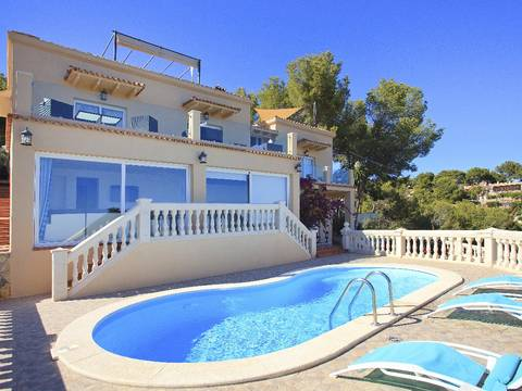 SWOCDB4223 South facing villa with sea views in Costa den Blanes