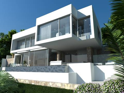 SWOCDB4514 Modern villa for sale in Costa d´en Blanes with a unique view
