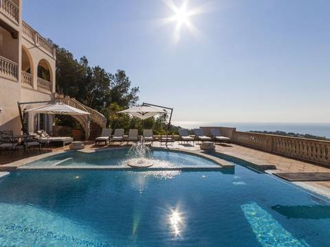 SWOCDB4569 Beautiful villa for sale in Cosa den Blanes with fantastic sea views