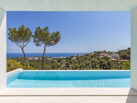 SWOCDB4612 Stunning villa with top quality equipment and sea view in Costa d'en Blanes