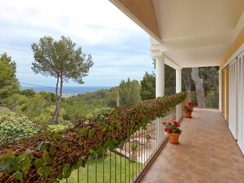 SWOCDB4621 Attractive and spacious villa for sale in Costa den Blanes with sea views