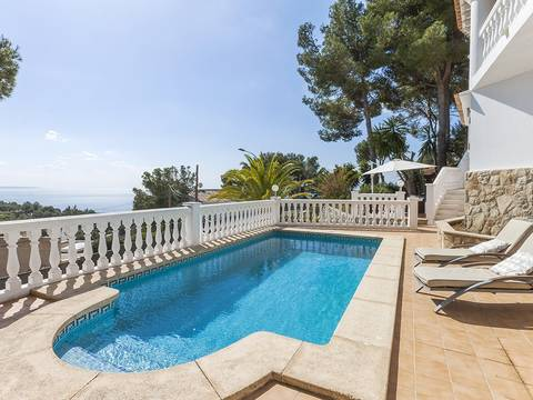 SWOCDB4716 Charming villa with fantastic sea views nestled on the hills of Costa d'en Blanes