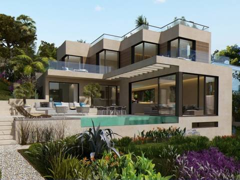 SWOCDB4932 Luxury modern villa with pool and sea views in Costa d´en Blanes