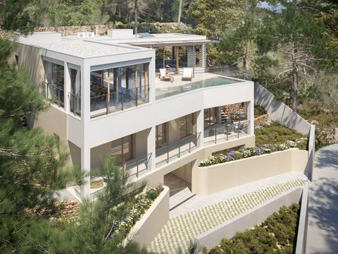 SWOCDB4968 Impressive brand new villa with magnificent views of the Mediterranean Sea