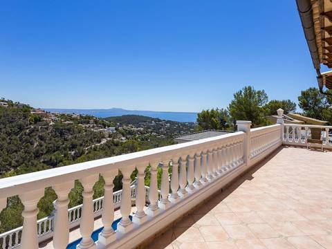 SWOCDB4984 Mediterranean-style 4 bedroom villa with pool and amazing views in Costa d´en Blanes