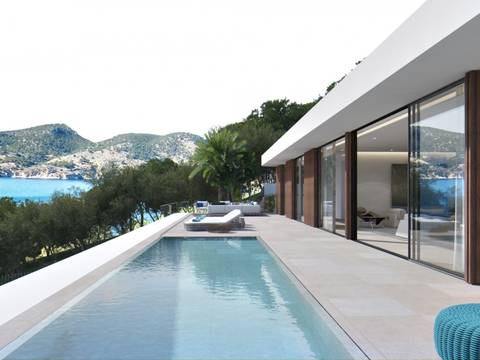 SWOCDM0143BPO Large plot for sale in Camp de Mar, with sea views