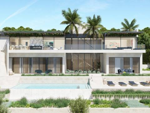 SWOCDM0216 Plot with project and licence to build villa with sea views in Camp de Mar, Andratx