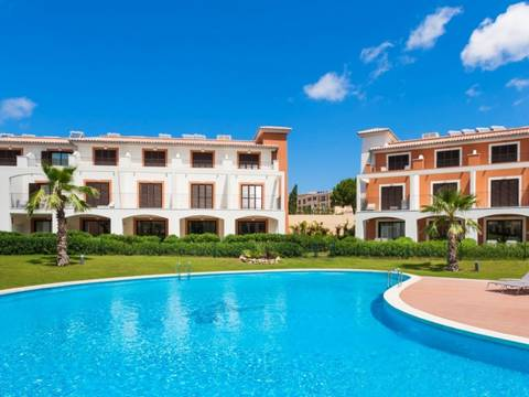 SWOCDM1730 Townhouse with golf and seaviews for sale in Camp de Mar