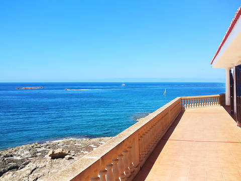 SWOCSJ40111 Enormous frontline house with lots of potential in Colonia Sant Jordi