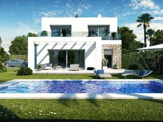 Brand new luxury villas in a peaceful location near the wonderful beach Es Trenc