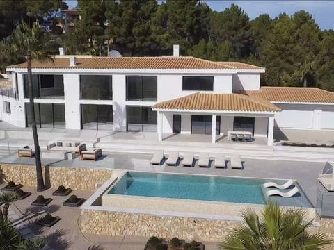 SWOESP40107 Luxurious residence in a tranquil and private area in Esporles