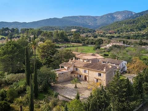 SWOEST5082 Mediterranean finca for sale in Establiments with nice views over the valley and the mountains