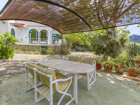 SWOGAL40214 Peaceful village home with fantastic views in Galilea, Puigpunyent