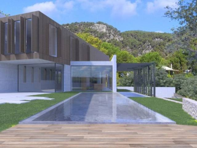 Villa for sale in Génova with minimalist architecture and panoramic views