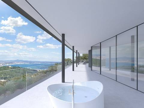 SWOGEN4566 Villa for sale in Génova with minimalist architecture and panoramic views