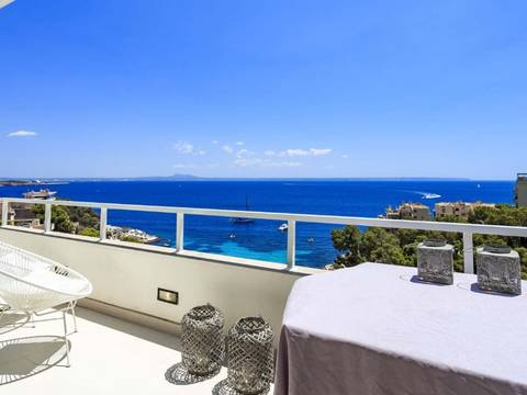 SWOILL10051 Wonderful sea view apartment, 10 minutes from Palma in Illetes